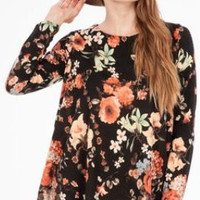 Lady in Floral Dress