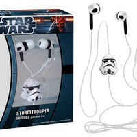 Storm Trooper Earbuds - Pre-Order Now, Ships Late August - Whimsical & Unique Gift Ideas for the Coolest Gift Givers