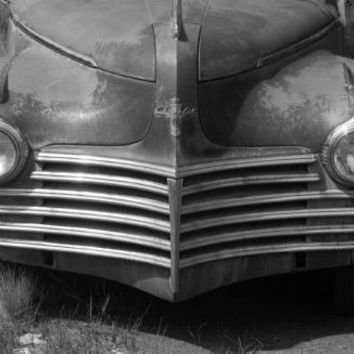 Chrysler 50's Car, Automobile Rust in Peace 11in x 17in Poster Print