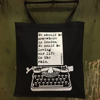 Wrdsmth - London Tote Black
