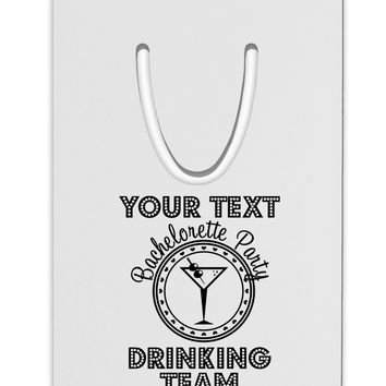 Personalized -Name- Bachelorette Party Drinking Team Aluminum Paper Clip Bookmark