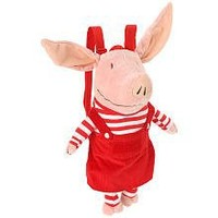 Olivia the Pig Everyday Plush 13 Inch Backpack