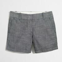 "Factory 5"" chambray short : 5"" 