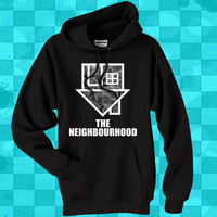 The Neighbourhood flower  crewneck hoodie for men and women