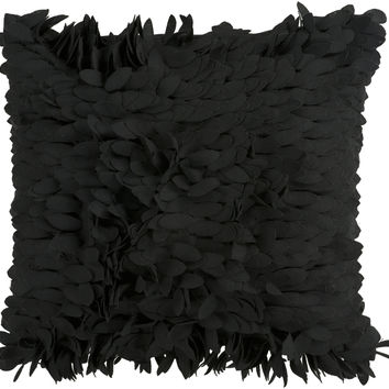 Claire Throw Pillow Black