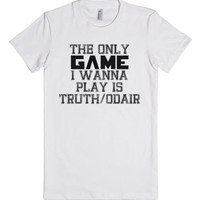 Truth Odair-Unisex White T-Shirt