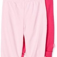 Disney Baby-Girls Newborn 2 Pack Pull-On Pant, Fuschia/Pink, 0-3 Months