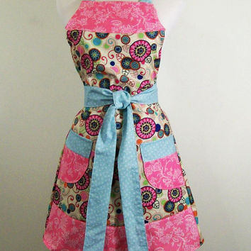 Women's Full Apron--#37--Made to Order