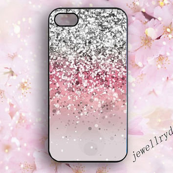 Sparkle iPhone 5s Case,iPhone 5/5c case,glitter iphone 4/4s case,pink Sparkly samsung galaxy s3 s4 s5 case,The beauty of a woman's best gift