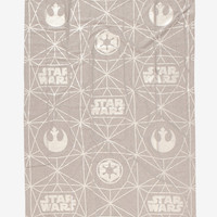 Star Wars Metallic Jersey Throw Blanket - BoxLunch Exclusive