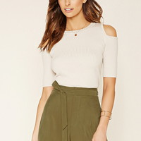 Contemporary Belted Shorts