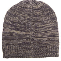 Marled Knit Slouchy Beanie | Wet Seal