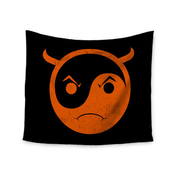 "Frederic Levy-Hadida ""Yin Yang Diablo"" Wall Tapestry"