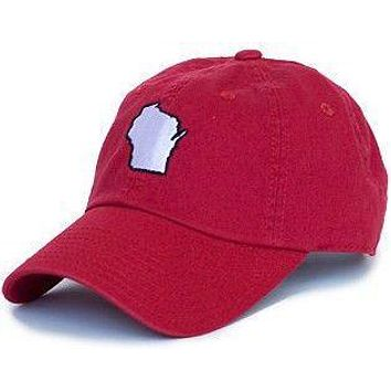 47af24c7d923b Wisconsin Madison Gameday Hat in Red by State Traditions