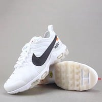 Trendsetter Off White X Nike Air Max Plus Tn Ultra  Women Men Fashion Casual  Sneakers Sport Shoes