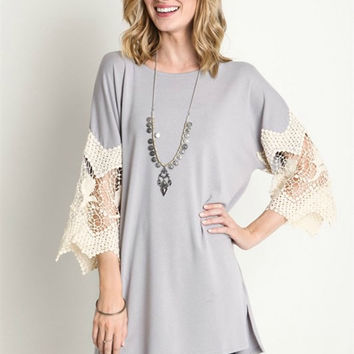 Marcelle Top - Gray