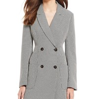 ASTR the Label Double Breasted Mini Blazer Dress | Dillard's