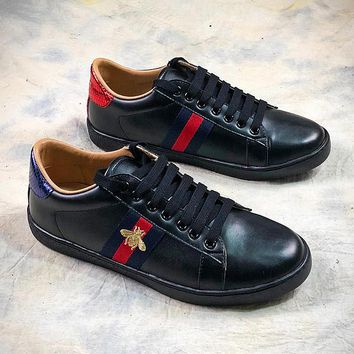 GUCCI Ace Embroidered Low Top Sneaker #4 - Best Online Sale