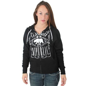 California Republic JD Whiskey Zip-Up Hoodie