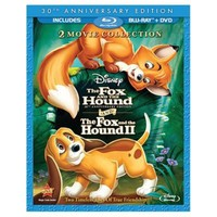 3-Disc The Fox and the Hound 30th Anniversary 2-Movie Blu-ray Collection (in Blu-ray Amaray case) | DVD/Blu-ray Animation | Disney Store
