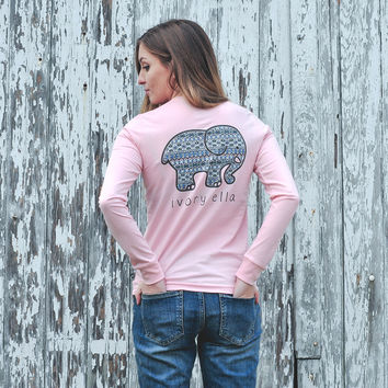 Perfect Fit Pink Ajna Tee