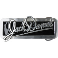 JACK DANIELS Rectangle SCRIPT Belt Buckle