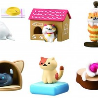 Neko Atsume Kitty Collector Figures Set