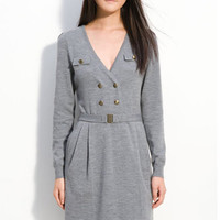 MARC BY MARC JACOBS/ 'Dree' Military Sweater Dress | Nordstrom