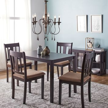 Simple Living Stratton 5-Piece Dining Set | Overstock.com Shopping - The Best Deals on Dining Sets