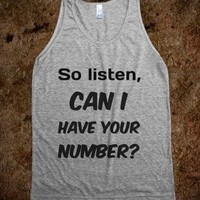 C - Can i have your number? - Righteous