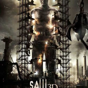 Saw 3D 27x40 Movie Poster (2010)