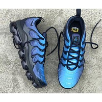 NIKE Air Max Plus Tn Ultra Army Green Men Wave Sneakers Women Men Sports Shoes  Navy blue