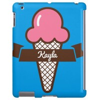 """Kayla"" Custom Monogram iPad 2/3/4 Case"
