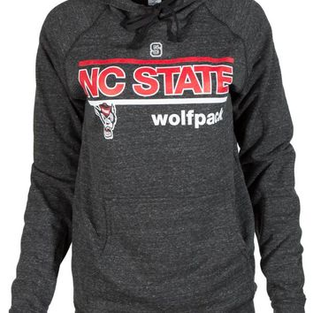 Official NCAA North Carolina State University Wolfpack NC State NCSU Buttersoft Tri- Blend Hoodie