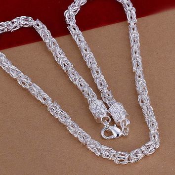 Hot Sale!!Free Shipping 925 Silver Necklace,Fashion Sterling Silver Jewelry Dragonfly Chain Necklace SMTN048