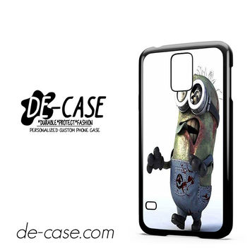 Despicable Me Minions Walking Dead For Samsung Galaxy S5 Case Phone Case Gift Present