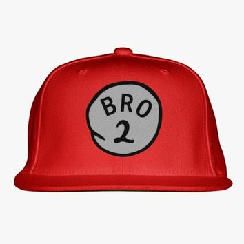 Bro 2 Embroidered Snapback Hat
