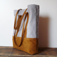 Tote bag Vegan bag Shopping bag Country Western styles Retro rustic tote bag