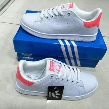 VLXZRBC Adidas Stan Smith' Fashion Sport Casual Women Sneakers Plate Shoes Small White Shoes