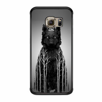 The Wolf King Samsung Galaxy S6 Edge Plus Case