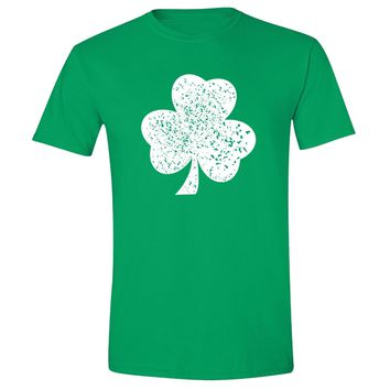 XtraFly Apparel Shamrock Clover St. Patrick's Matching Couples Short Sleeve T-shirt