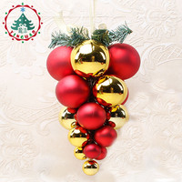 inhoo  Creativity Christmas Tree Pendant Ball Grape Bunch Ornament Home Holiday Decoration Christmas Supplies Baubles Christmas