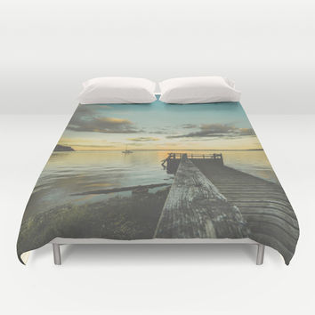 Dating Alice in wonderland Duvet Cover by HappyMelvin | Society6