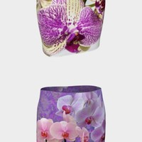 Orchid Fitted Skirts collection by Shabby Chic & Vintage Art