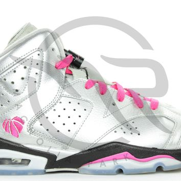 QIYIF AIR JORDAN RETRO 6 (GS) - FOR THE LOVE OF THE GAME