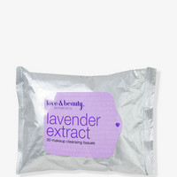 Lavender Makeup Cleansing Tissues