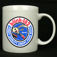 blink 182 blue For Ceramic Mugs Coffee *