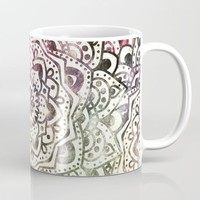 STARRY DAY MANDALA Mug by Nika