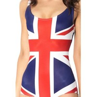 Sexy One Piece Bodysuit World Flags - UK Swimsuits Bathing Suits:Amazon:Sports & Outdoors