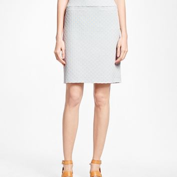 Positive-Negative Pastel Polka Dot A-Line Skirt - Brooks Brothers